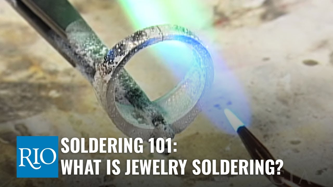 Soldering 101 - What is Jewelry Soldering, Anyway? - YouTube