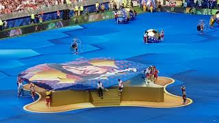 """""""Live it up"""", closing ceremony of the 2018 FIFA WC Final with Nicky Jam / Will Smith / Era Istrefi"""