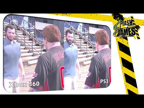 GTAV PS3 vs XBOX360, ¡COMPARATIVA! ¿CUÁL TIENE MEJORES GRÁFICOS?