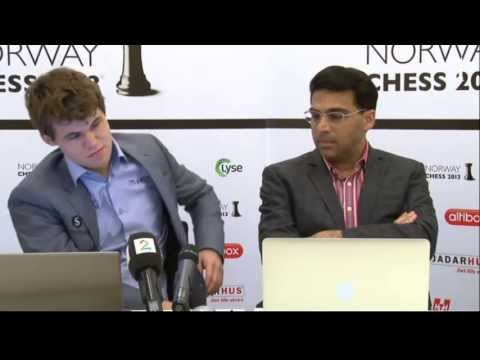 Carlsen-Anand post-mortem (Norway Chess 2013)