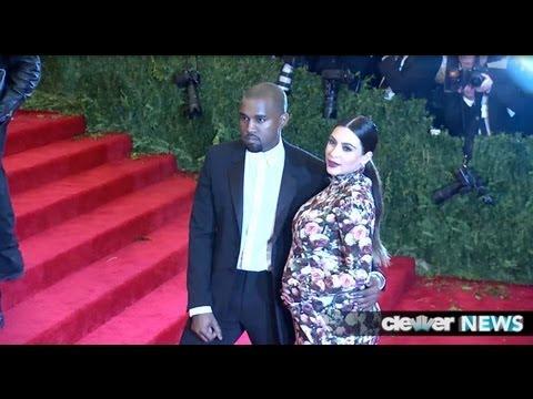 Kim Kardashian and Kanye West Met Ball 2013 - DETAILS!