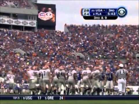 #20 Georgia vs. #9 Florida 2007