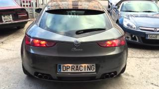 Alfa Romeo Brera Exhaust insane sound