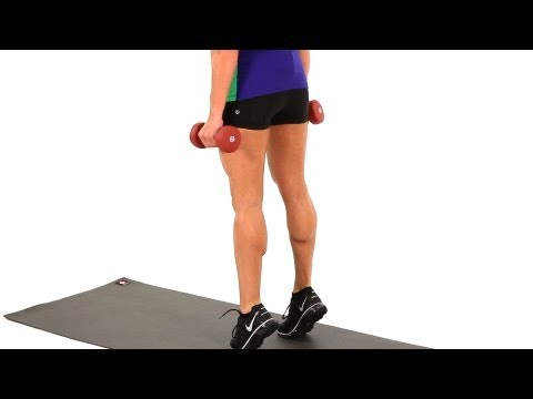 How to Do a Calf Raise | Sexy Legs Workout Image 1