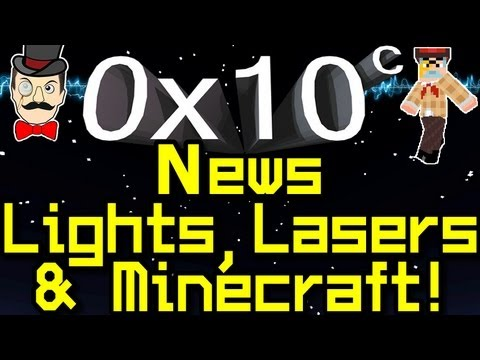 0x10c - News LASERS , Custom Ships & MINECRAFT Notch !