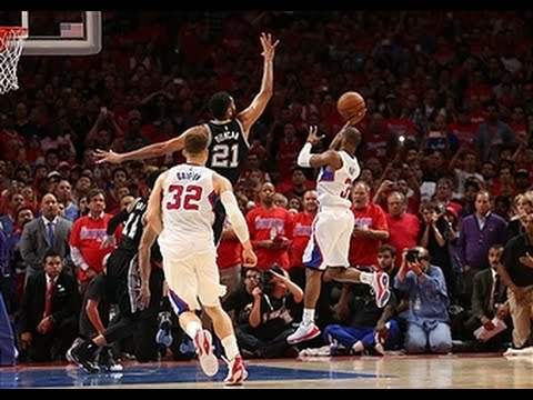 Chris Paul Seals Game 7 with Tough Shot in Super Slow-Motion