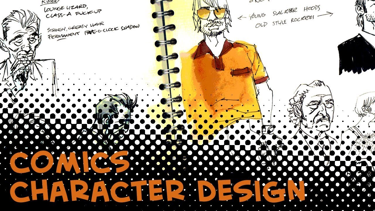Character Design For Comics : Character design for comics youtube