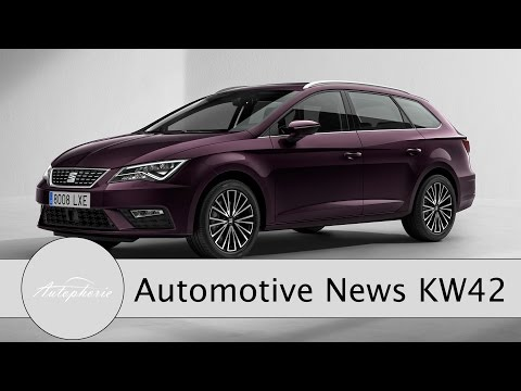 NEWS: Neuer Seat Leon (Facelift), Ultra-E Projekt, Kein Apple Auto - Autophorie