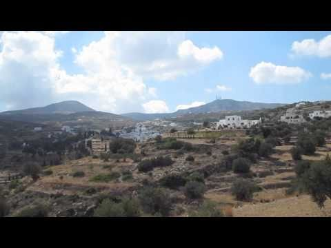 Riding Through Paros, Greece (HD)