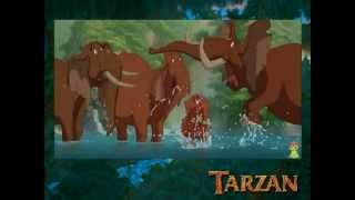 Tarzan - un poil d'éléphant (fandub by two girls)