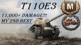 World of Tanks || T110E3 - Didn't FEEL Like 11,000 Damage...