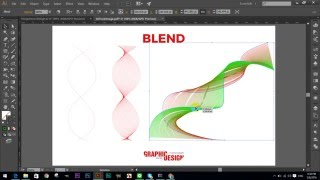 How To Use The Blend Tool Using Adobe Illustrator in Khmer