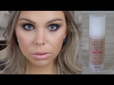 Benefit Hello Flawless Foundation First Impressions Crystal Conte