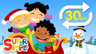 Jingle Bells (Extended Mix - 30 Mins!) | Kids Songs | Super Simple Songs