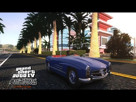 GTA IV San Andreas Beta - Mercedes-Benz 300 SL Roadster v1.0