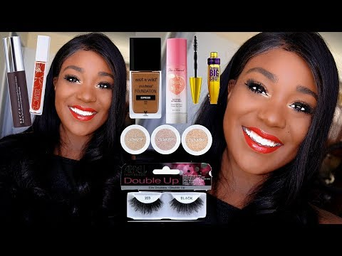 EASY MAKEUP!!! Soft Glam Makeup Black Women Makeup Tutorial For Beginners LAVY HAIR | ROSE KIMBERLY