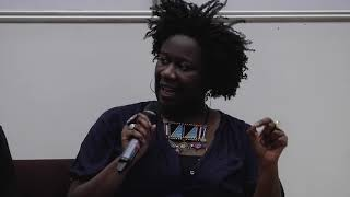 Andrea Phillips, Morgan Quaintance, Barby Asante and Irit Rogoff - panel discussion - 27/02/201