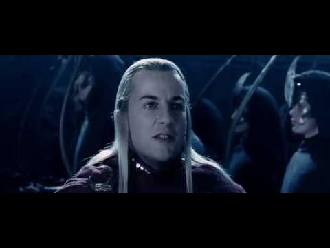 Эльфы Лориэна приходят на помощь. HD