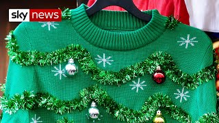 How does your Christmas jumper affect the environment?