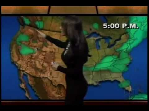 Weathergirl Jackie Guerrido is so sexy...... Video