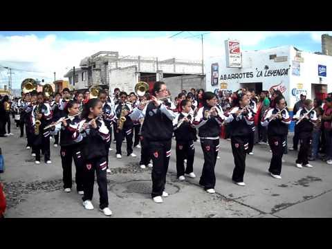 colegio guadalupe victoria aguilas marching band