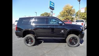 SCA Performance Black Widow Lifted 2018 Chevy Tahoe Premier