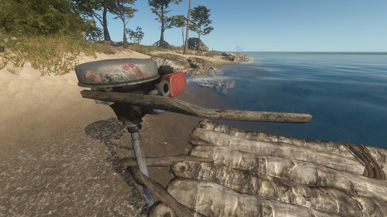Как сделать в stranded deep лодку