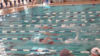 Grace 100 Meter Freestyle