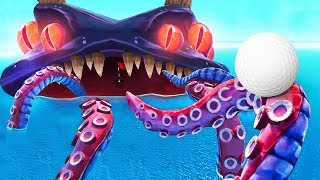 GOLFING WITH SEA MONSTERS! (Golf With Your Friends)