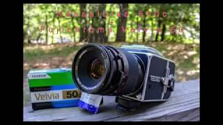 Hasselblad 500c and Fujichrome Velvia 50