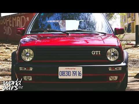 Vw golf mk2 red