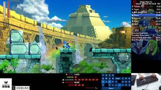 Qttsix|Mega Man 11 Any% Normal No OoB Speedrun in 34:44 WR in 2018/11/03