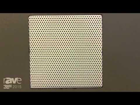 ISE 2015: James Loudspeaker Introduces 63SA In-Ceiling Speaker
