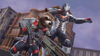 Marvel Future Fight - Avengers Endgame The Big Guns