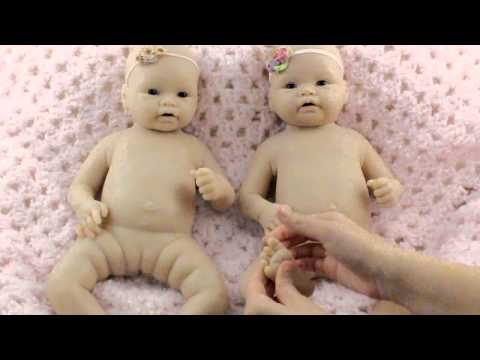 Silicone type comparison - EcoFlex 20 & 30 - Full body silicone baby