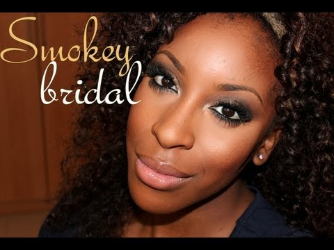 wedding makeup for black women