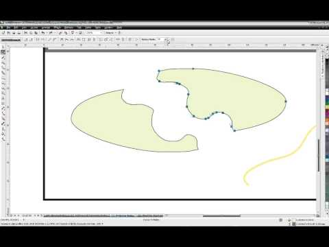 CorelDRAW® Tutorial | Introducing CorelDRAW Graphics Suite X5 Curve Tools