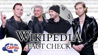 5SOS Correct Their Own Wikipedia Page | Wikipedia Fact Check | Capital