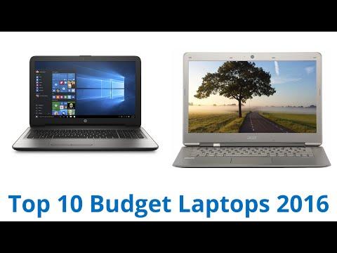 10 Best Budget Laptops 2016