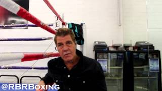 video RBRBoxing's Staff Writer, Peter Nieves, sits down to talk with legendary trainer Joe Goosen about his greatest moments as a trainer, Mayweather vs. Pacquiao, John Molina vs. Adrien Broner and...