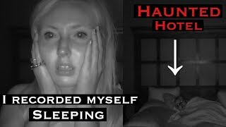 I Recorded Myself Sleeping in a Haunted Hotel with My Possessed Doll