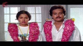 First Night Scene Between Karthik & Gautami    Bangaru Papa Movie    Gautami, Karthik