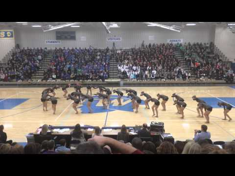 DanceFullOut13 - Chaska Dance Team Kick 2014