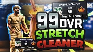 NBA 2K17 99 Overall Stretch Cleaner Build - Say Goodbye Stretch Bigs