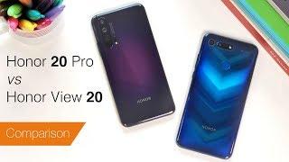 Honor 20 Pro vs View 20