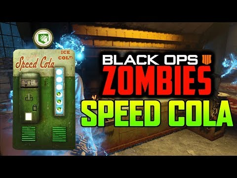 SPEED COLA IS BACK IN ZOMBIES! (Black Ops 4 Zombies)
