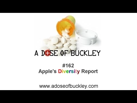 Apple's Diversity Report - A Dose of Buckley