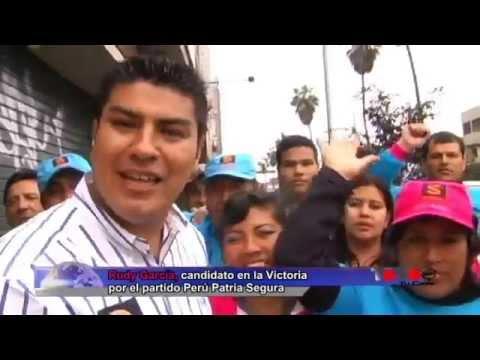 Rudy García realizó una gran caravana por La Victoria
