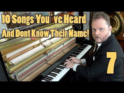 10 Songs You've Heard and Don't Know the Name Vídeos de zueiras e brincadeiras: zuera, video clips, brincadeiras, pegadinhas, lançamentos, vídeos, sustos