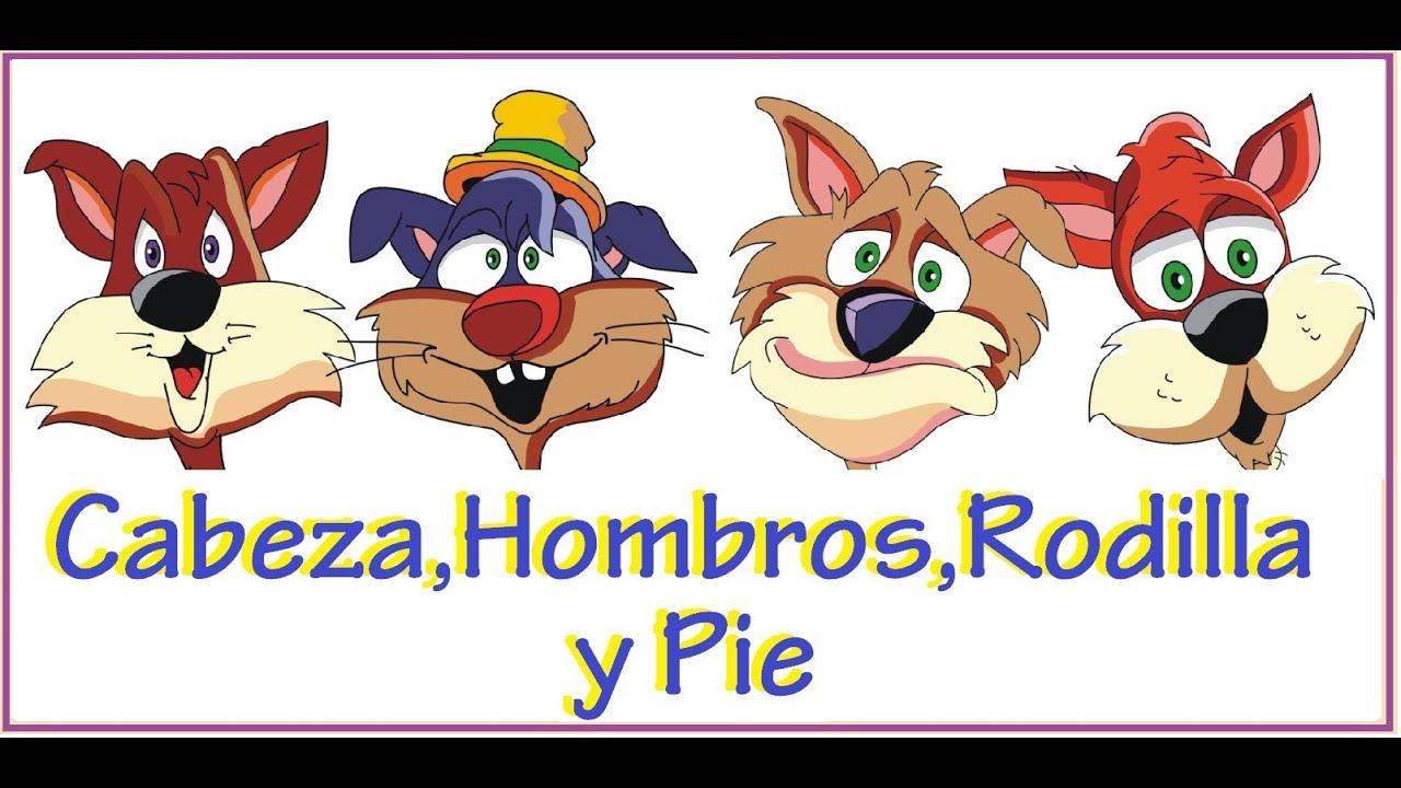 Cancion Infantil Baño De Burbujas:Cabeza Hombro Rodilla Y Pie